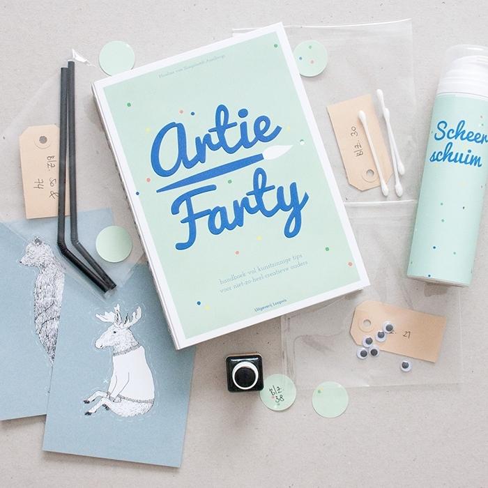 Artie Farty knutselstartpakket