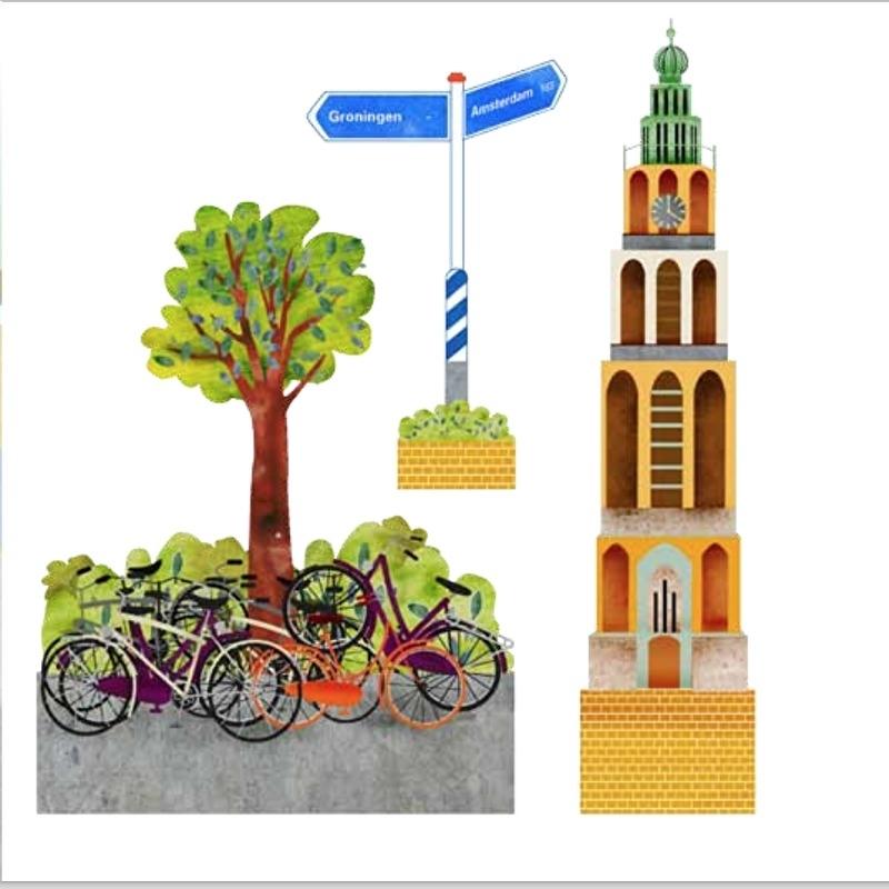 Bouw je eigen stad - Groningen