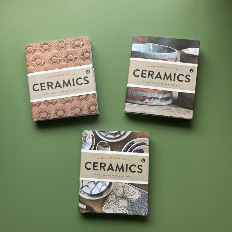 Uppercase boek | Ceremics