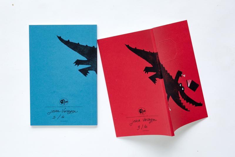 Schrift limited edition   Jeska Verstegen