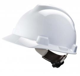 MSA V-Gard 200 veiligheidshelm met Fas-Trac Wit (Geventileerd)