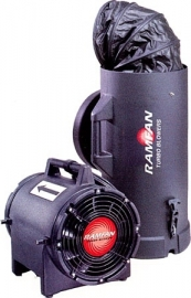 Ramfan overdrukventilator UB20 XX Quick-Couple