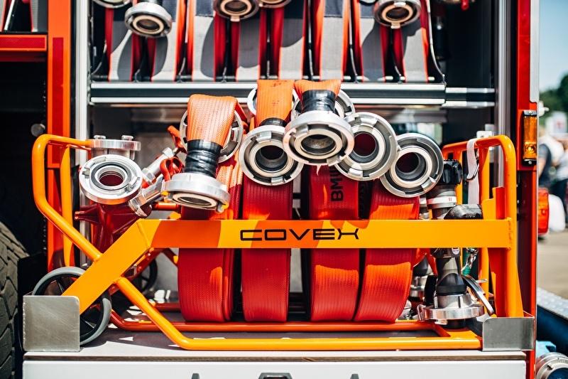 Brandweer aanvalskrat Covex Arbo