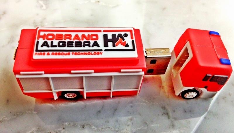 USB stick brandweerwagen