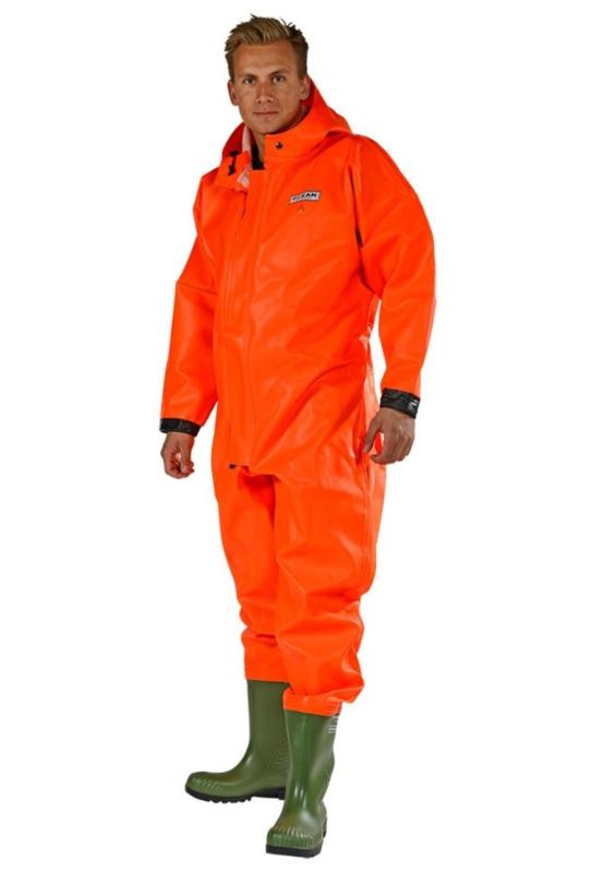 Waadpak oranje brandvertraging excl. handschoenen