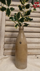 Oude aardewerken fles VERKOCHT