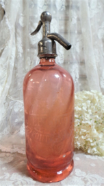 Oude roze spuitfles VERKOCHT