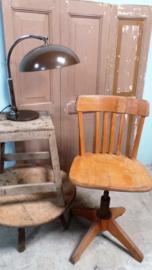 Oude bureaustoel VERKOCHT