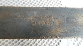 Oude bronzen zeepstempel VERKOCHT