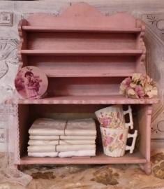 Oud roze kinderkastje VERKOCHT