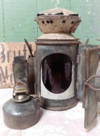 Oude stoere sein lantaarn VERKOCHT