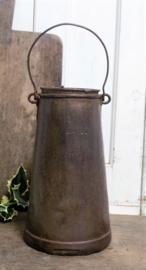 Oud Frans melkpulletje met tekst VERKOCHT