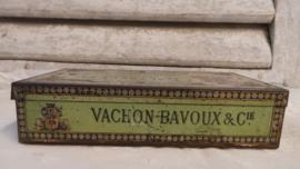 Oud Frans zeepblikje deel 1 VERKOCHT