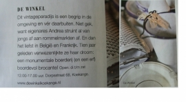 Libelle 100% brocante juli 2013