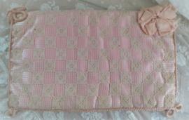 Oude roze lingeriehoes