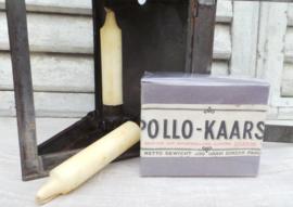 Oud doosje Apollo kaarsen