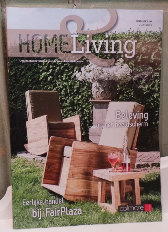 Home & Living editie Juni 2015 (vakblad)