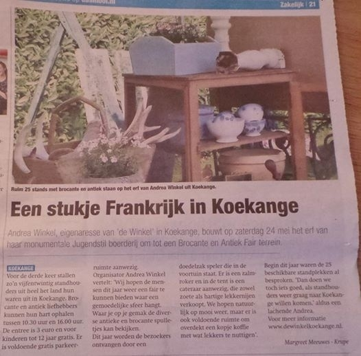 Das Mooi krant vermelding Drentsche Fair