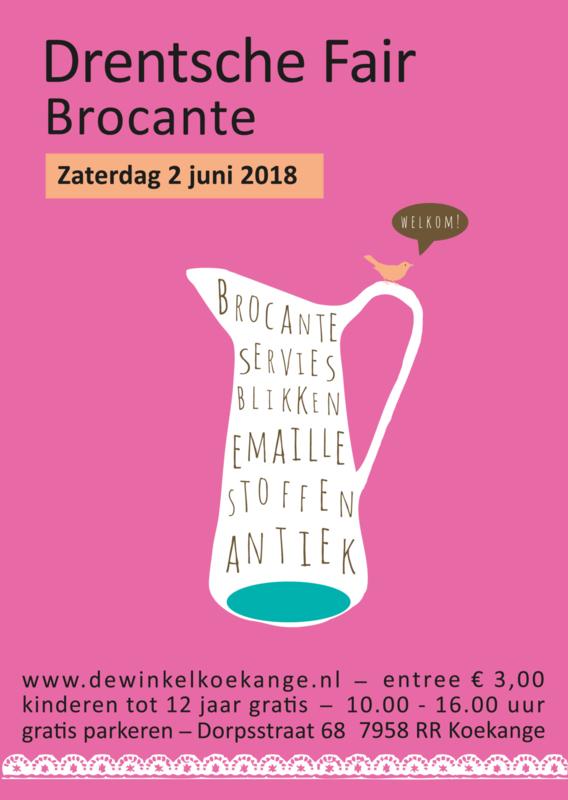 Poster Drentsche Fair 2018