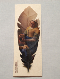 Feather The Milkmaid by Johannes Vermeer