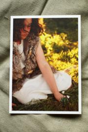 Print / kaart madeliefje Phoebe