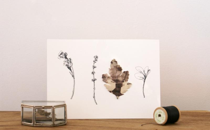 Art card impression