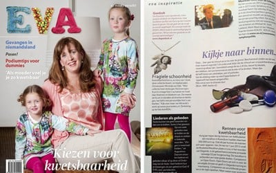 Puur Anders in Magazine Eva, april 2013