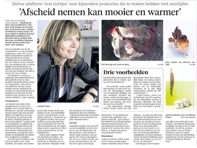 Puur Anders featured in Noord Hollands Dagblad