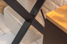 Industrieel bureau STUDIO 110 cm eiken look met lade