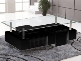 Salontafel Model : Antwerpen zwart