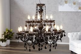 Hanglamp Model: Konings -  15 armen Zwart - 1282
