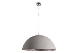Stijlvol hanglamp GLOW 50cm beton zilver