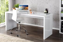 Design bureau FAST TRADE 120 cm wit hoogglans kantoortafel