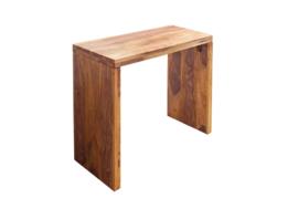 Massieve consoletafel MAKASSAR 100 cm Sheesham Stone Finish bureau