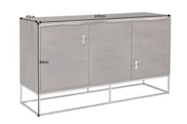 Massief dressoir MAMMUT 147 cm Acaciahout