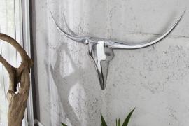 Wandgewei Model: Bull - Zilver -120cm - 8528