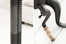 Buitengewone salontafel ENGINEER 50 cm mangohout complexe tandwielfunctie