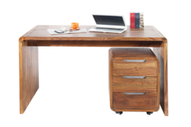 Design Bureau CUBE 150cm sheesham palissander