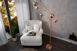 Vloerlamp model: Five Lights - Copper - 22976