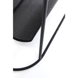Bijzettafel Mesh Journal 53,5x25cm frame: staal gepoedercoat