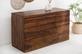 Massief dressoir ILLUSION 120 cm mango hout handgemaakt