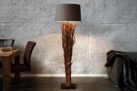 Sta lamp Model: EUPHORIA 180cm - Kap Grijs