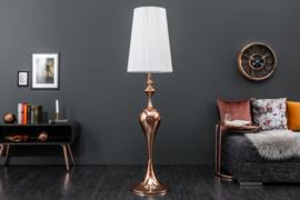 Elegante design vloerlamp  rose goud 160cm