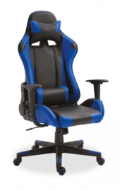 Gamingstoel Donkerblauw/zwart