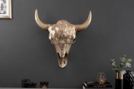 Wandschedel Model: Matador - Goud
