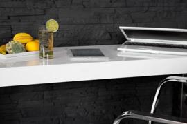 Sidetable  Bureau  White Desk 120 cm hoogglans -