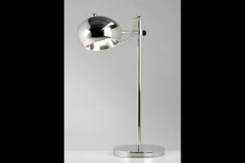 Tafel / Bureau Lamp Model: Bubble Chroom