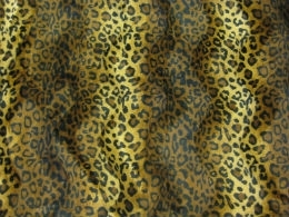 Velboa Luipaard bruin-goud