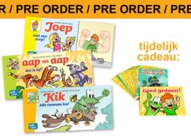 PRE ORDER Groep 3 mini-leespakket | AVI Start - M3 - E3 + kaartjes