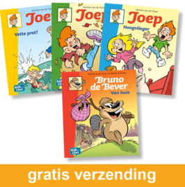 Groep 4 leespakket Joep PLUS (2e leerjaar) | AVI E3 - M4 - M4 - E4
